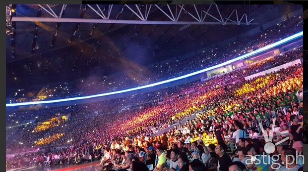 Philippine Arena audience for Aldub