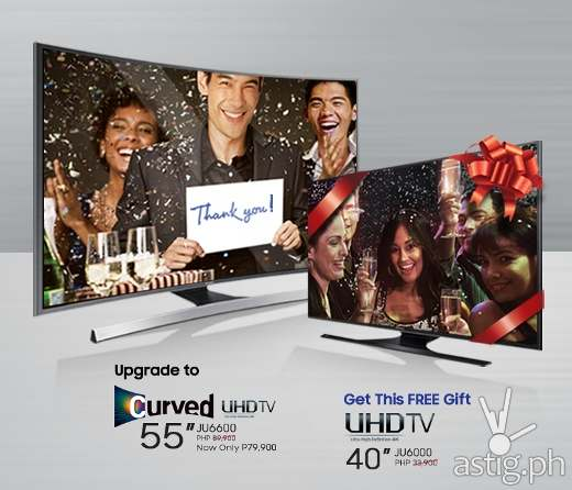 Samsung Curved UHD TV Thank You Promo