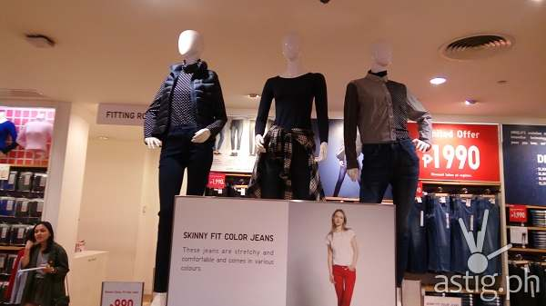Uniqlo skinny fit jeans Fall Winter Fashion Philippines 2015