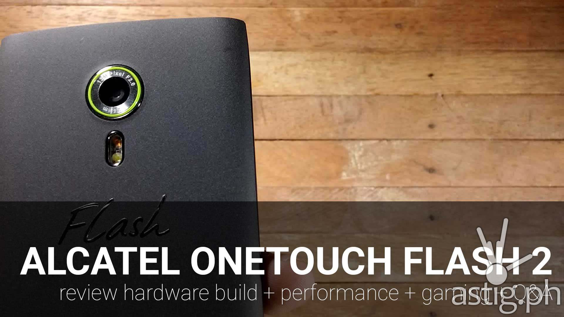 alcatel onetouch flash 2 review gaming performance hardware
