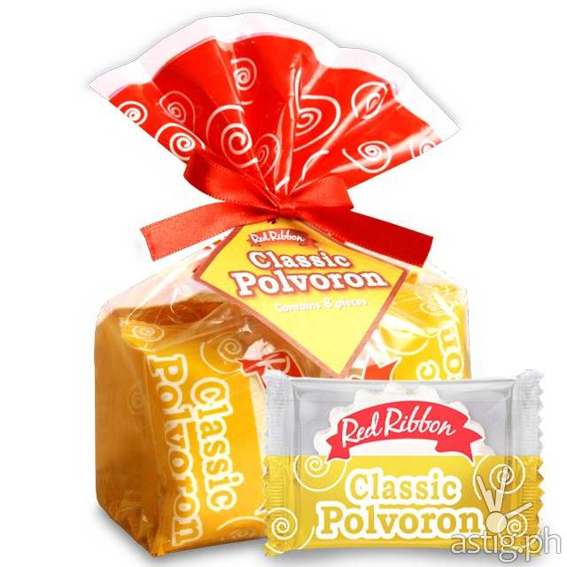 red ribbon classic polvoron