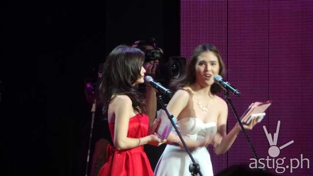 Elisse Joson and Sofia Andres