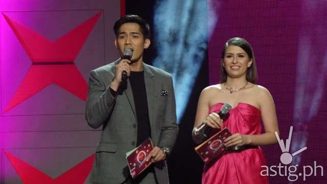 Robi Domingo and Tippy Dos Santos