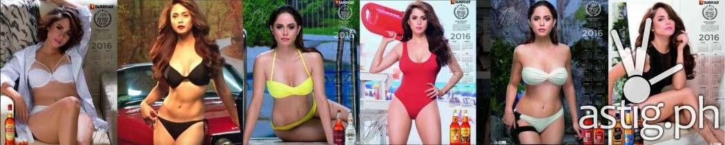Jessie Mendiola is 2016 Tanduay calendar girl