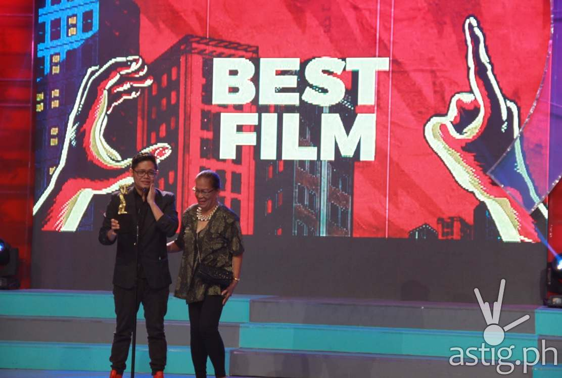 Cinema One Original's Best Film - Carl Joseph Papa for Manang Biring