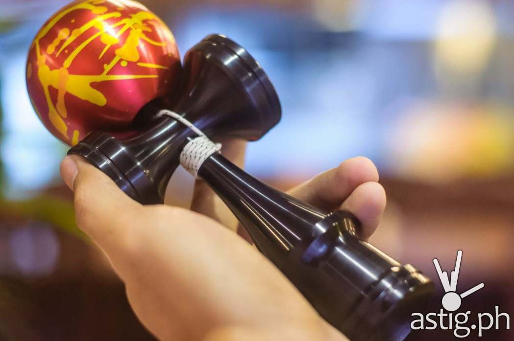 This pure metal Kendama costs 6000 PHP!