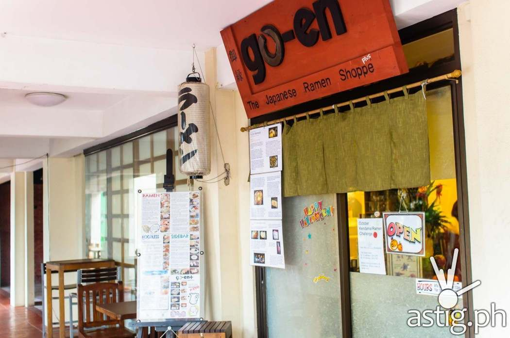 go-en Japanese Ramen Shoppe is located in Quezon City