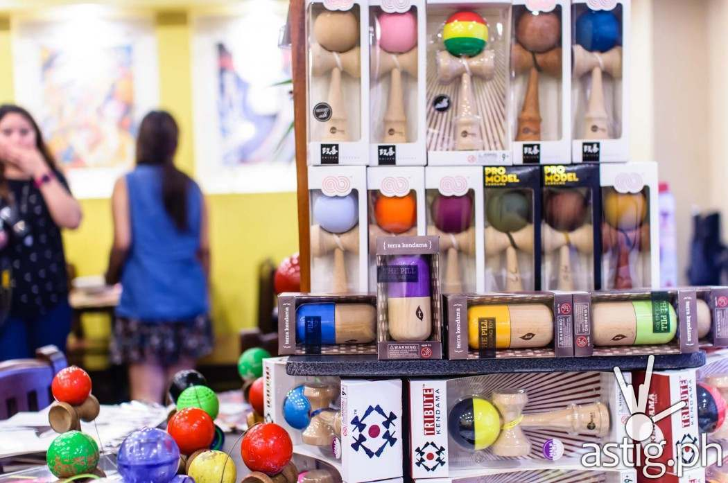 Japanese toys adorn the interiors of go-en Japaense Ramen Shoppe