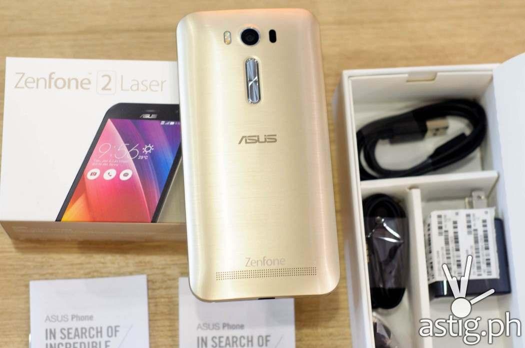 ASUS Zenfone 2 Laser ZE500KL gold