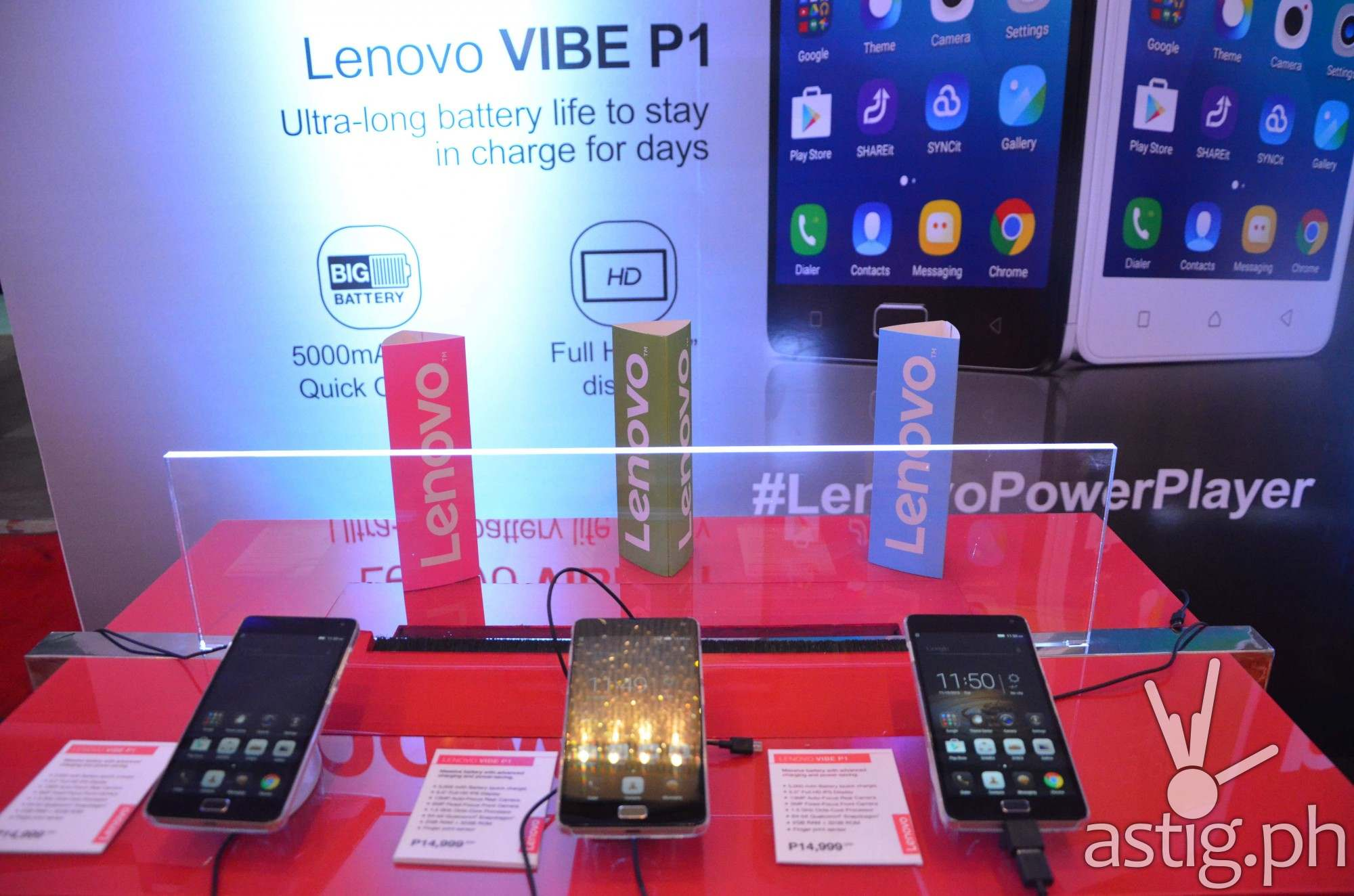 Lenovo VIBE smartphones