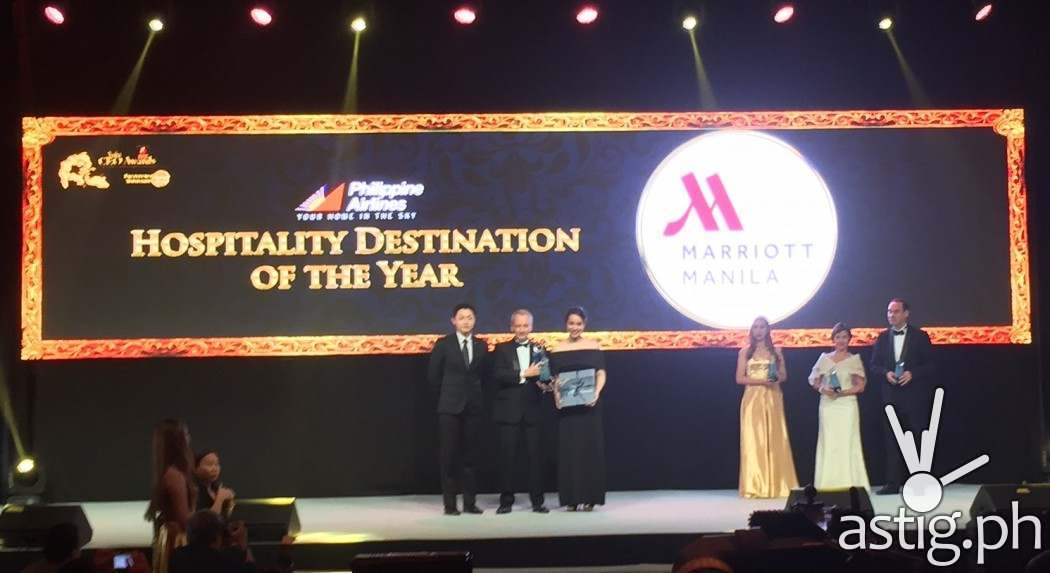 Marriott Manila wins Hospitality Destination of the Year at the Asia CEO Awards