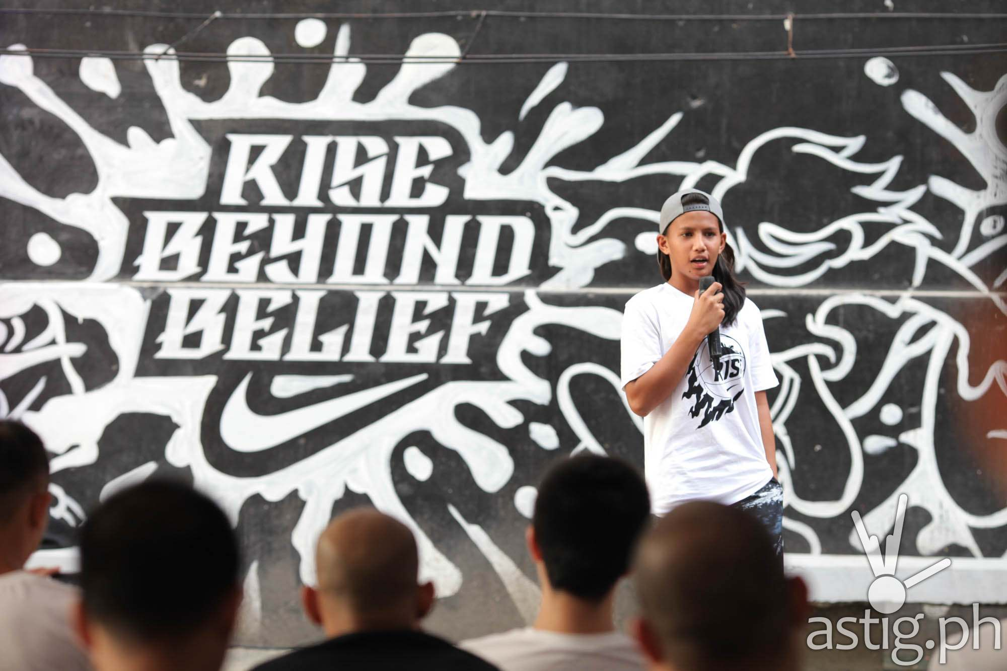 NIKE WE RISE - 2. Rise player Kristine Cayabyab sharing her Rise story and where it has landed her now
