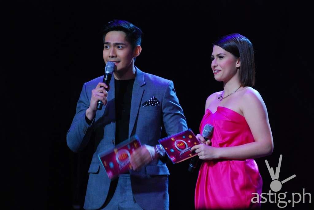 PUSH Awards hosts Robi Domingo and Tippy Dos Santos (2)
