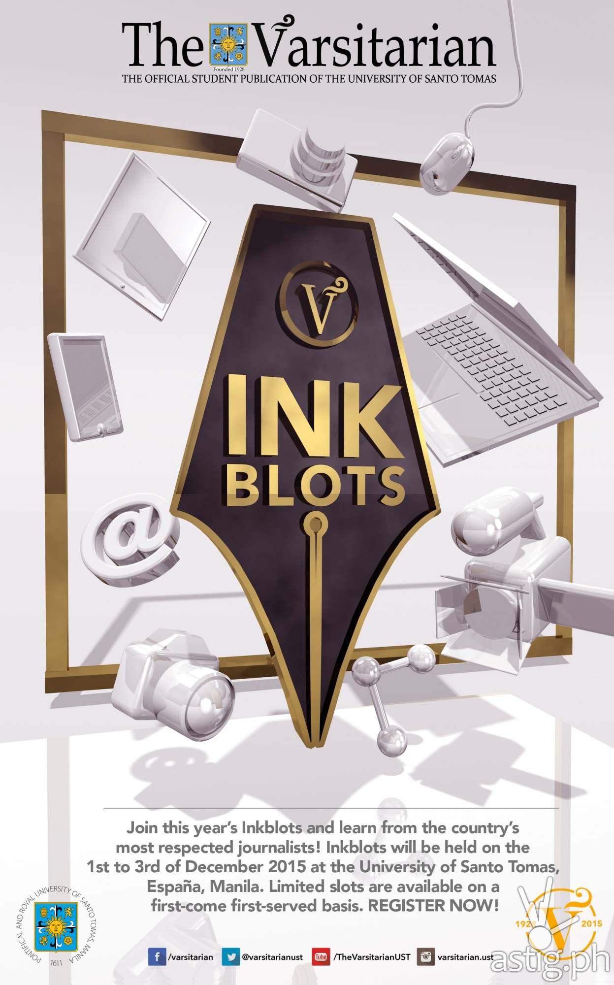 Inkblots 2015 poster