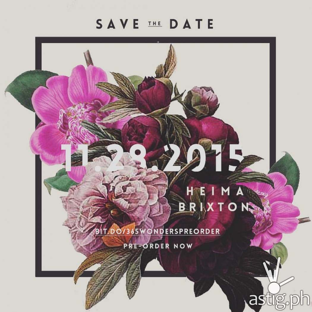 Save the date! Woman, create launches on November 28, 2015 at Heima Brixton in Kapitolyo