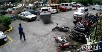 Mitsubishi Montero Sports 'sudden' acceleration threatens public security