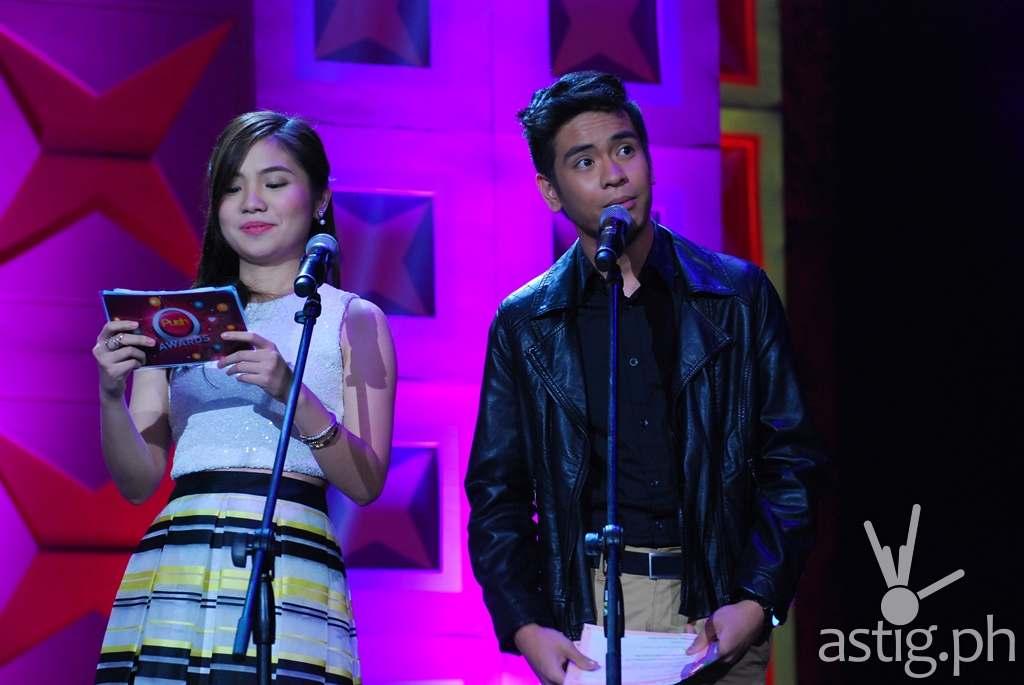 Sharlene San Pedro and Jairus Aquino
