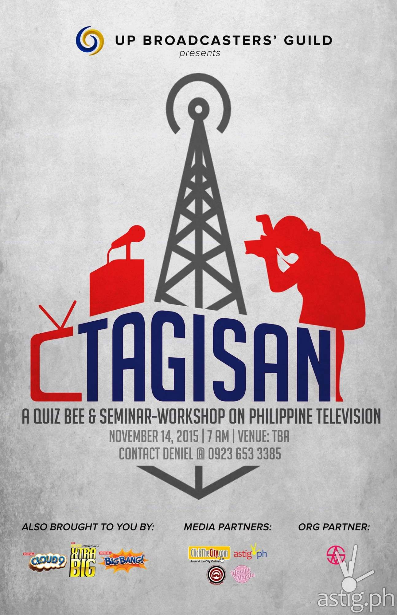 Tagisan 2015 UP Broadcasters' Guild