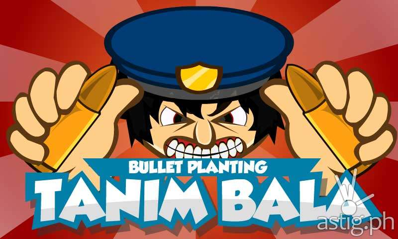 Tanim Bala (Bullet Planter) game intro screen