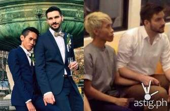 Love wins! Viral Thai-German gay couple who drew hate from netizens are now married