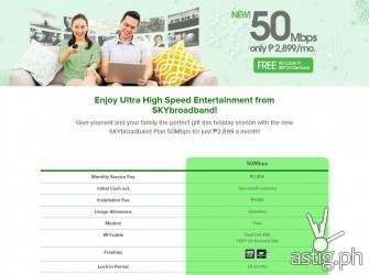 Sky Broadband silently rolls out 50 Mbps plan at 2899 / month