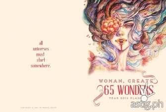 Woman, Create: 365 Wonders 2016 Planner [event]