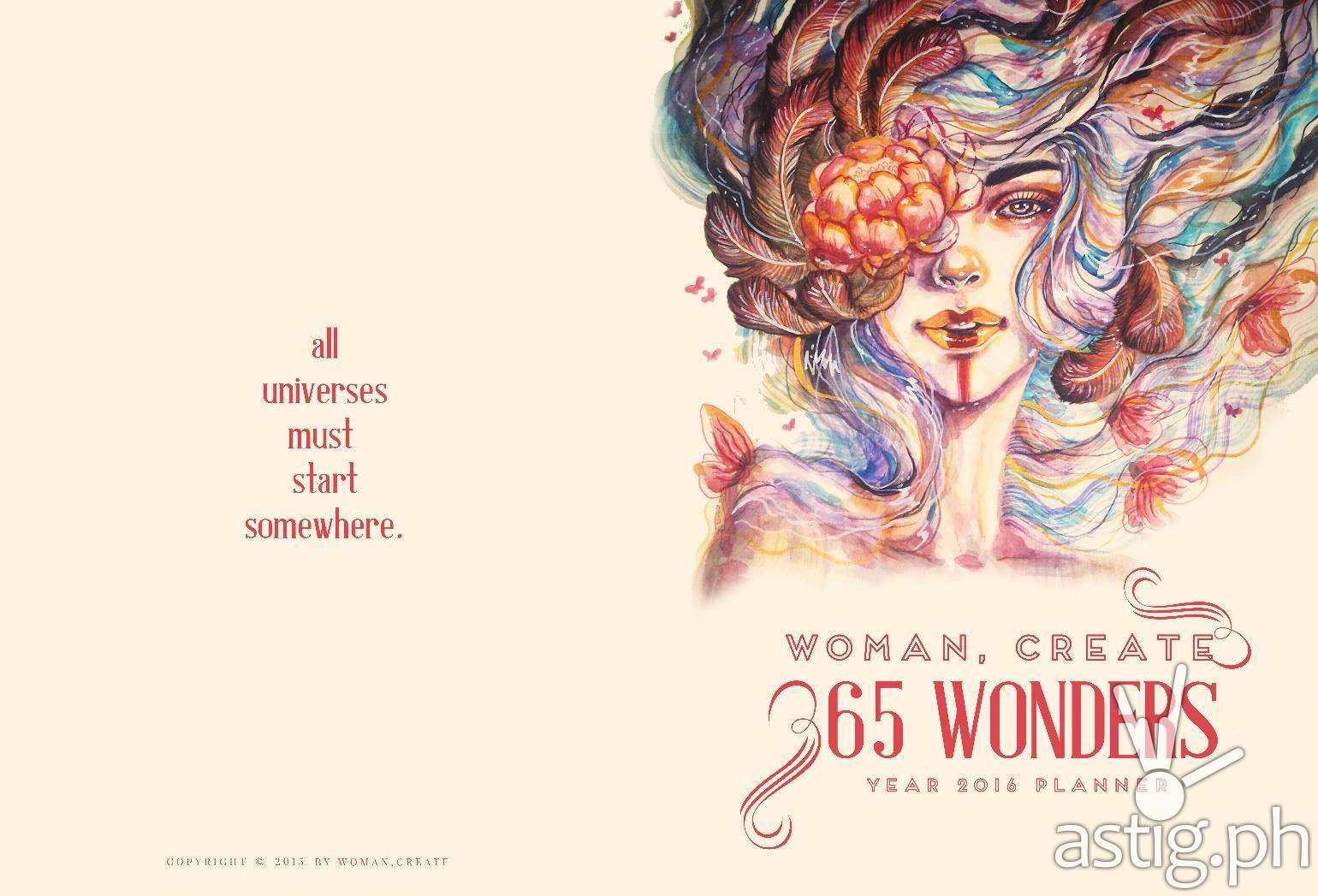 woman create 365 wonders