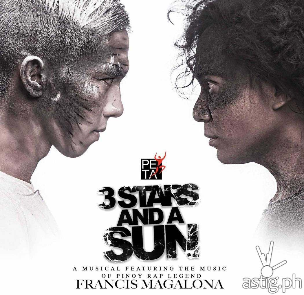 3 Stars and a Sun rap-musical by PETA featuring the music of Francis Magalona