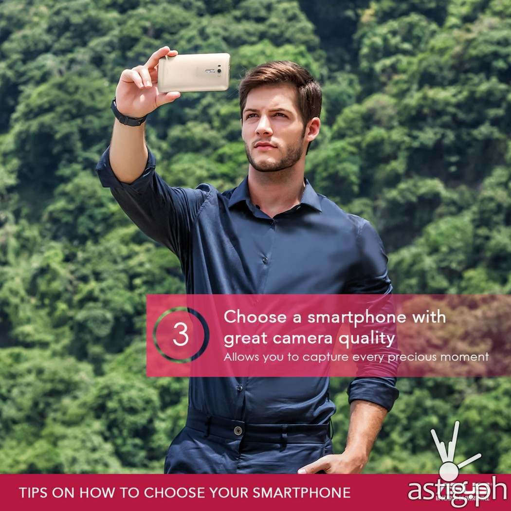 TIP #3: How to choose a smartphone with superior camera quality