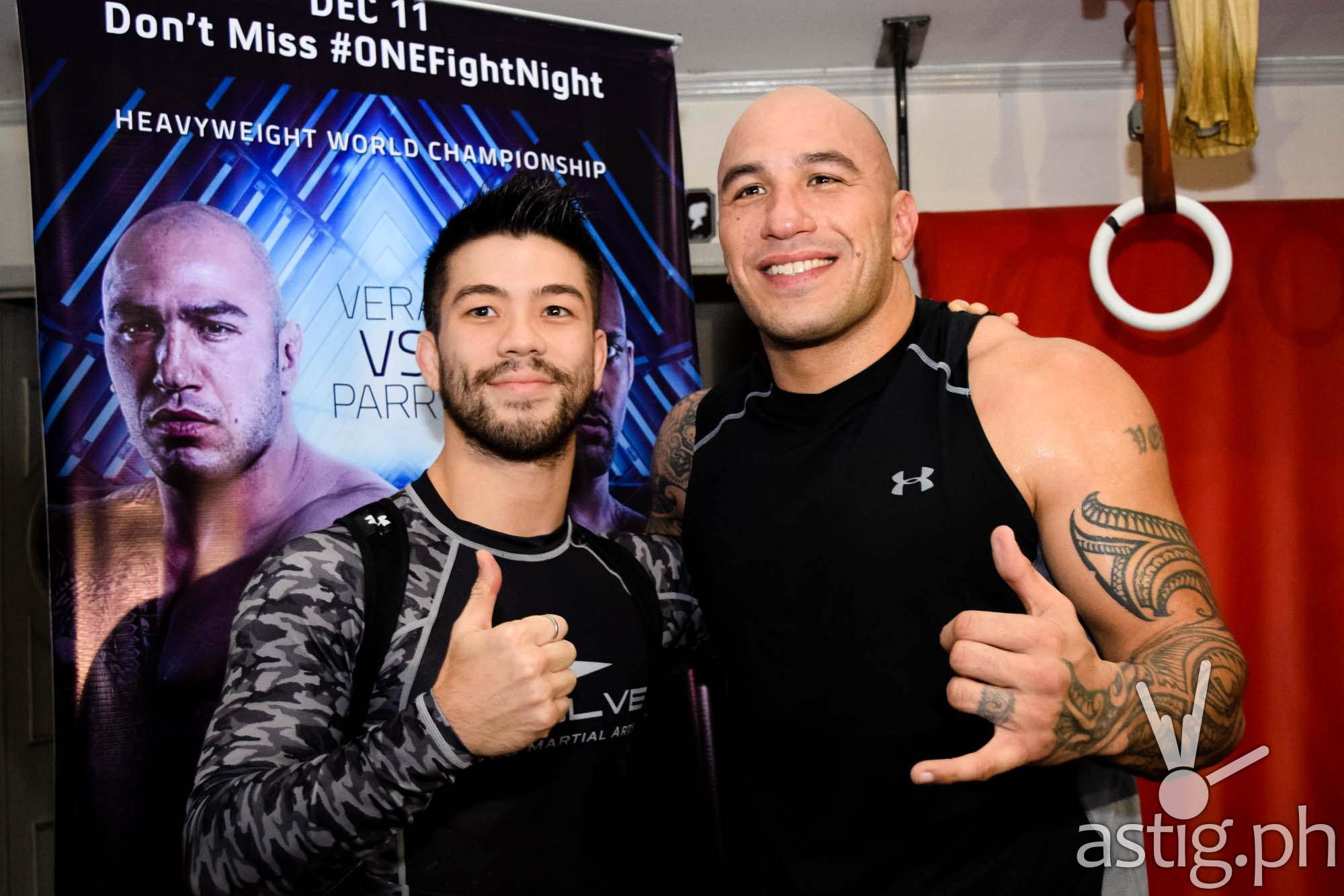 Another fighter with Filipino roots -- Mark Striegl -- is ready to show his wares in the bantamweight division as Brandon Vera puts Filipino pride on the line in the World Heavyweight Championship