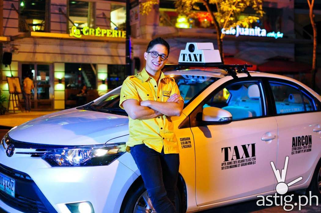 Ryan Agoncillo: actor, father, and now ... a Cash Cab driver