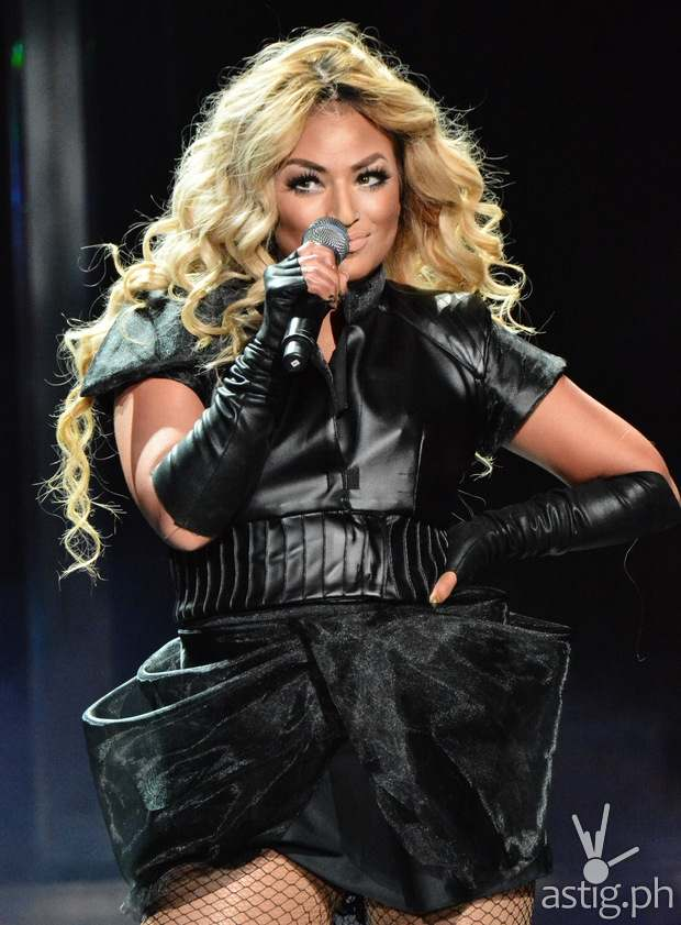 Denise Laurel as Beyonce