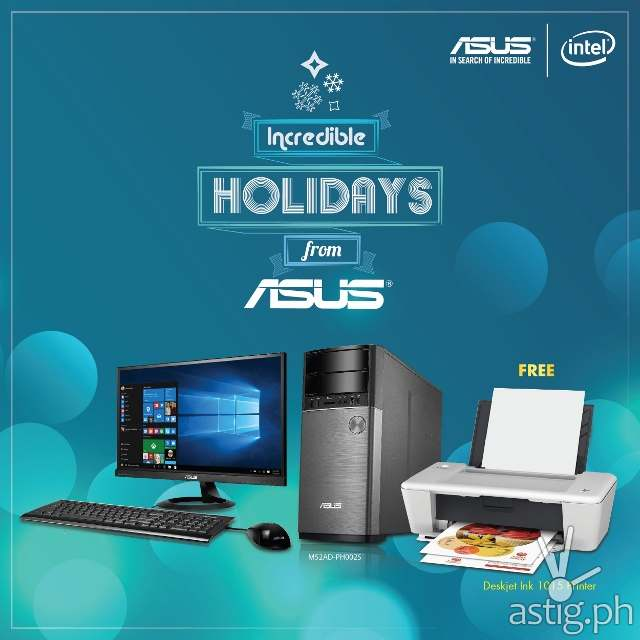 ASUS Dektop PC: Get the Perfect Pair this Christmas