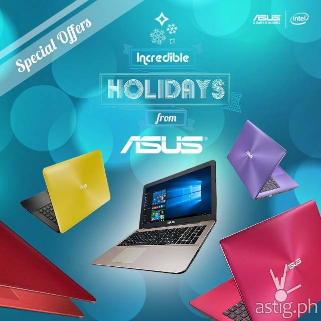 ASUS X-Series Notebooks: Perfect for the X-mas Season