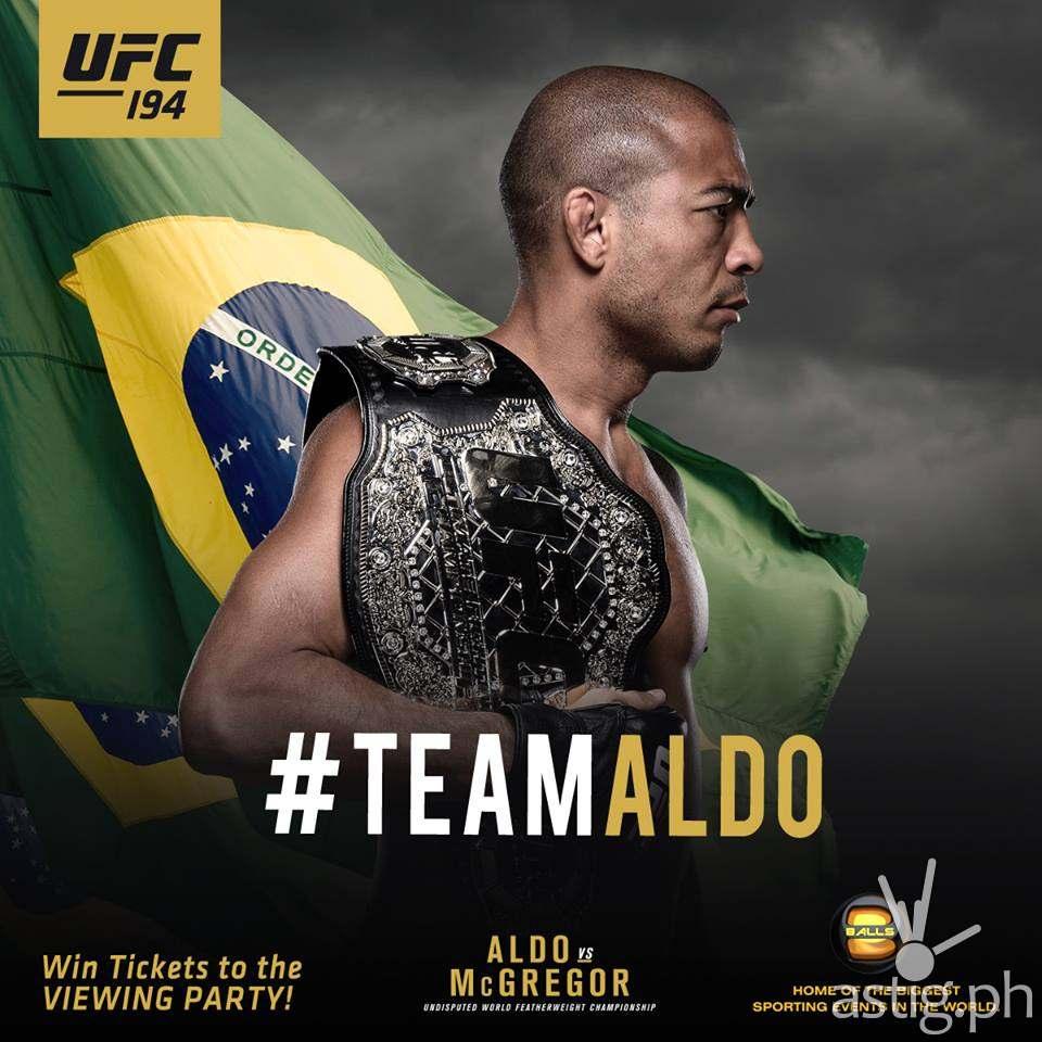#TeamAldo Jose Aldo in UFC 194