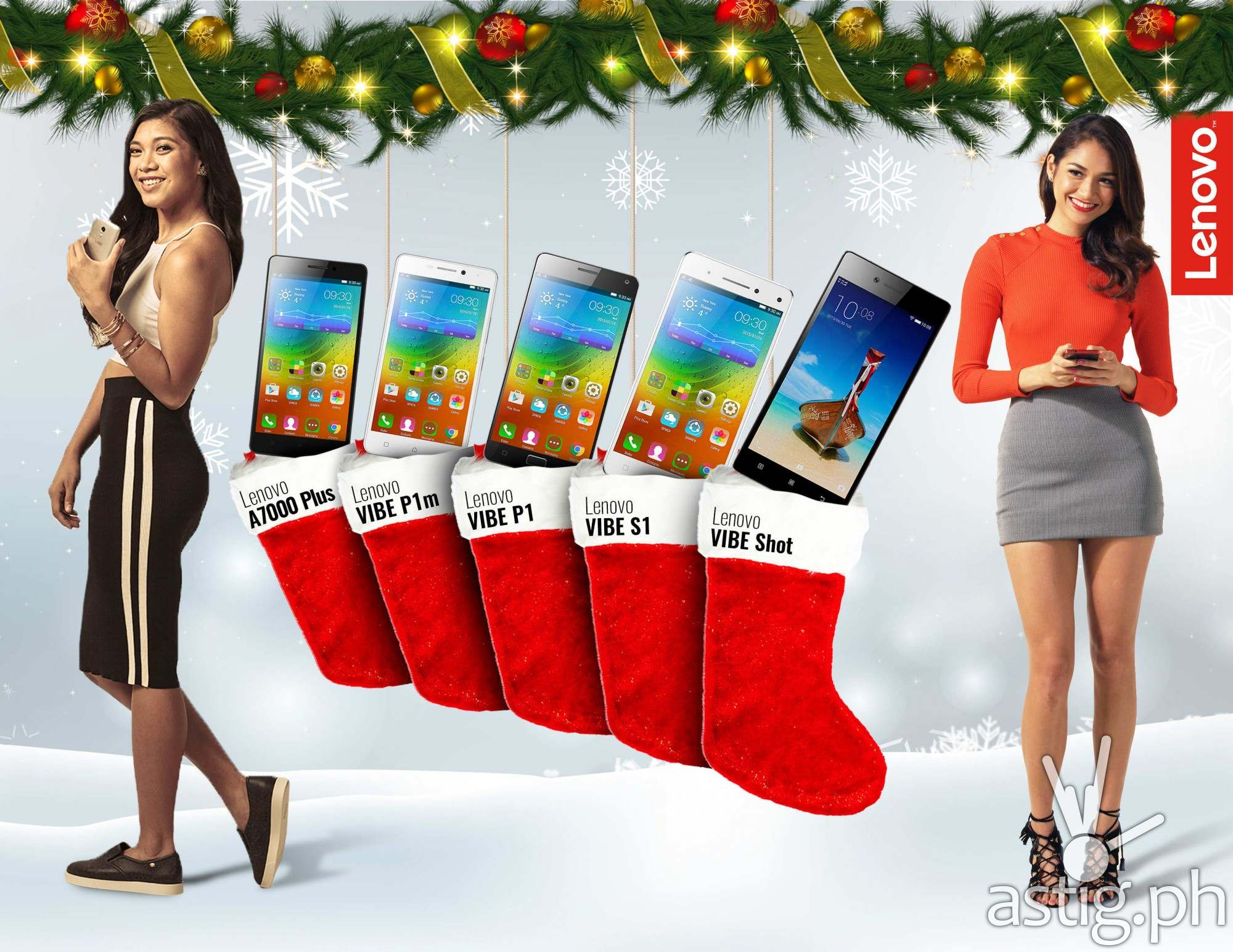 Lenovo powers holiday gift giving with the ultimate smartphone lineup
