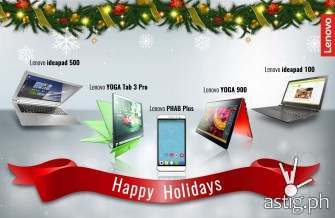Lenovo PHAB Plus, YOGA, ideapad Christmas sale