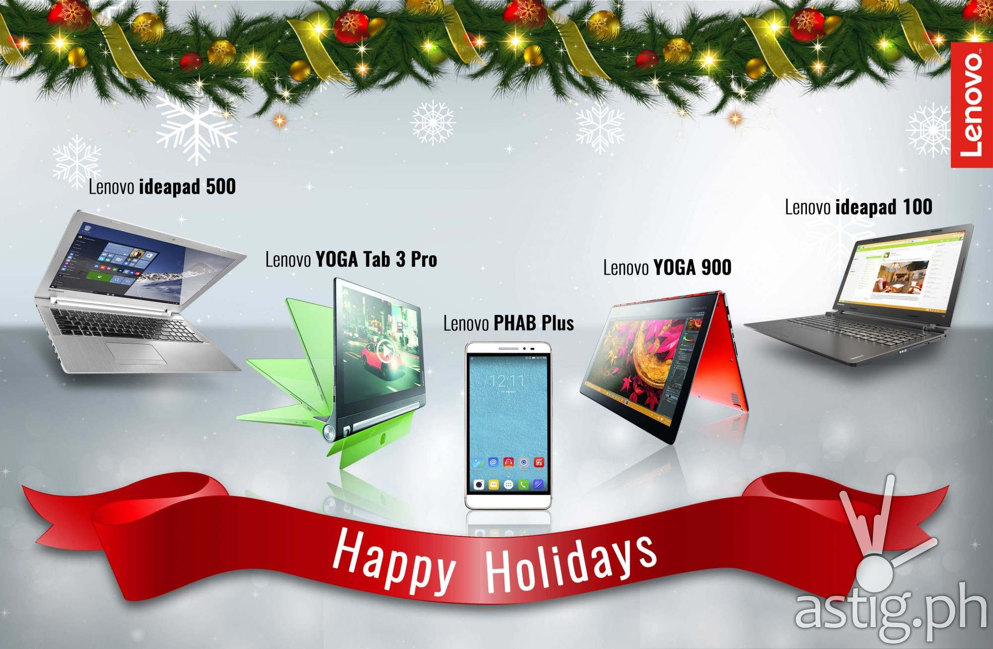 Look Forward to an Enjoyable, Productive 2016 with the Lenovo Holiday Gift Guide