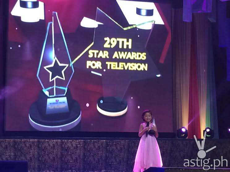 NINGNING actress Jana Agoncillo at the 29th PMPC Star Awards