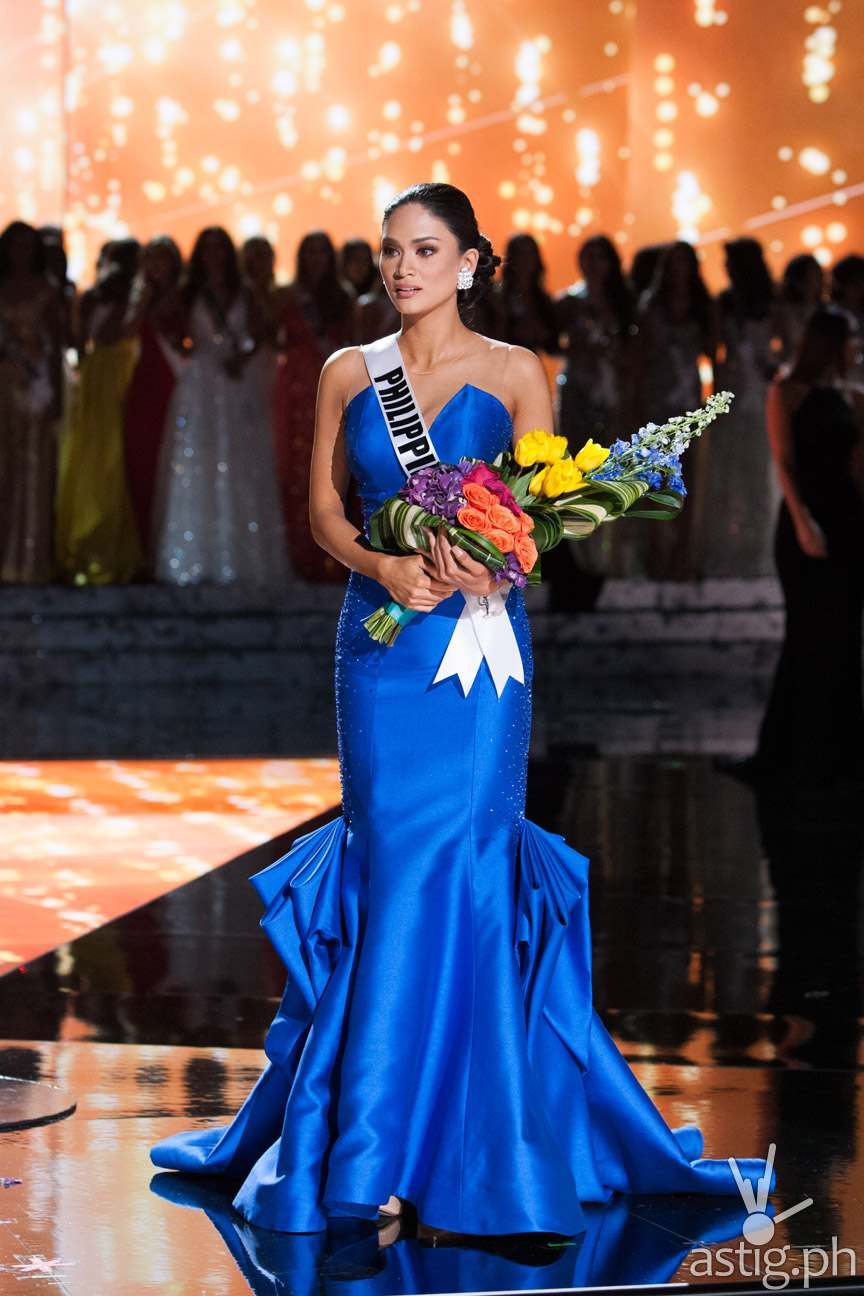 Pia Alonzo Wurtzbach, Miss Philippines 2015 is announced the winner at the conclusion of The 2015 MISS UNIVERSE® Telecast airing live from Planet Hollywood Resort & Casino on FOX Sunday, December 20. HO/The Miss Universe Organization