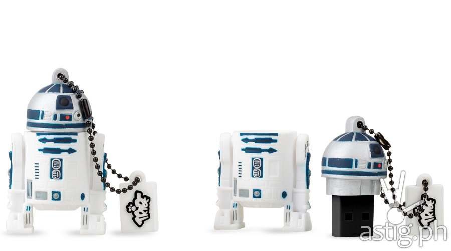 R2-D2 flash drives from AllPhones Philippines