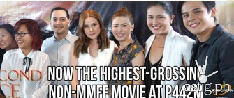 'A Second Chance' expected to breach 700M mark, named as highest grossing non-MMFF film of all time