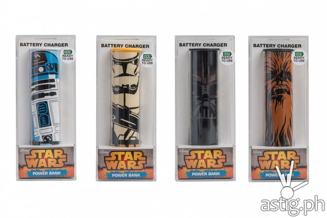 Star Wars powerbanks from AllPhones Philippines