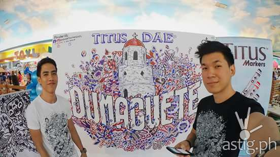Titus Pens DAE iDoodle '15 doodle wall