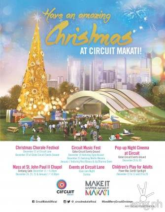 Circuit Makati is hosting exciting Christmas events