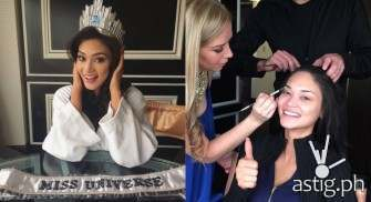 LOOK: Pia's first day as Miss Universe 2015