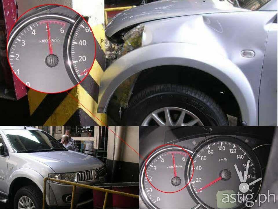 mitsubishi montero sudden acceleration