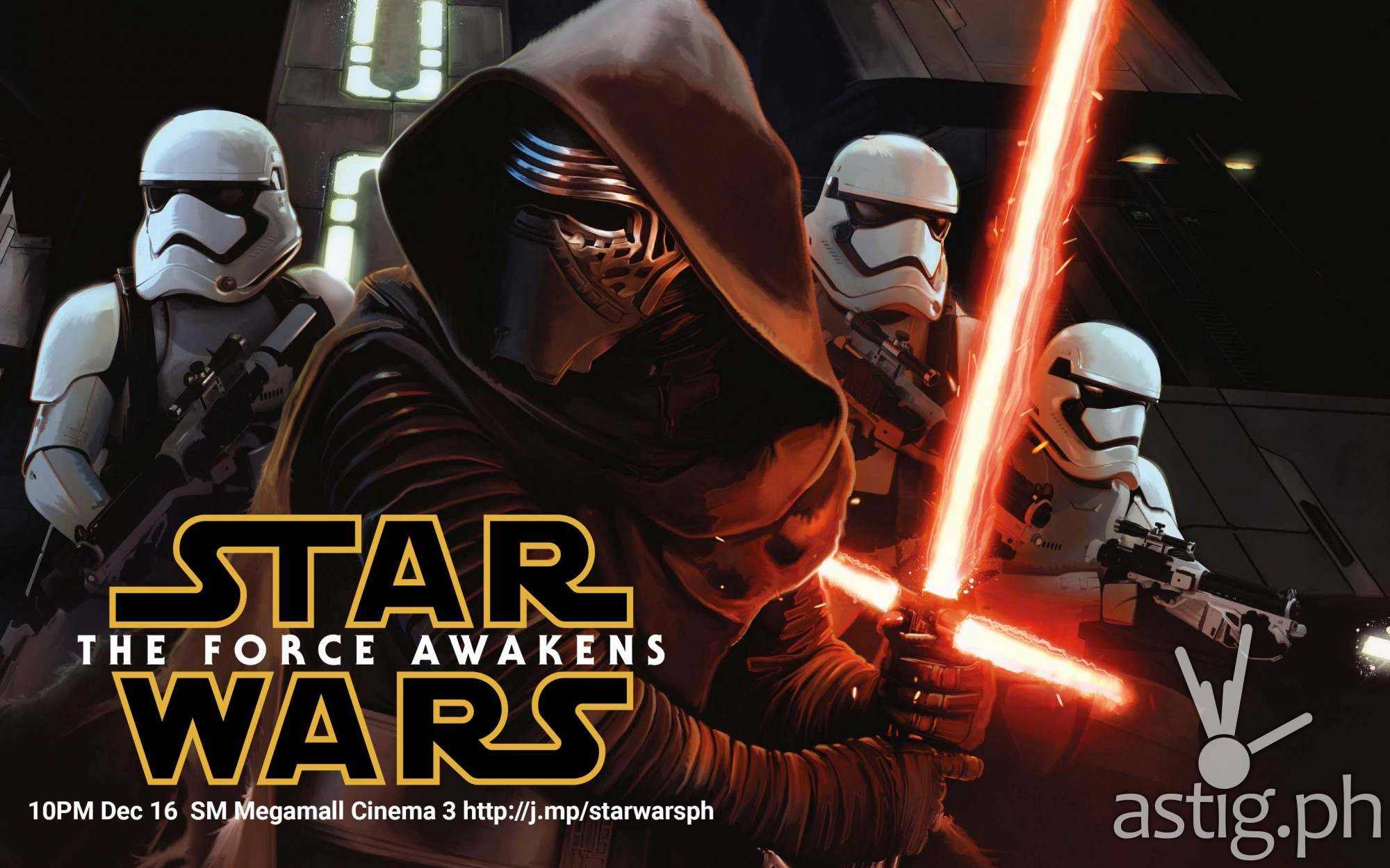 Star Wars Force Awakens advance movie screening