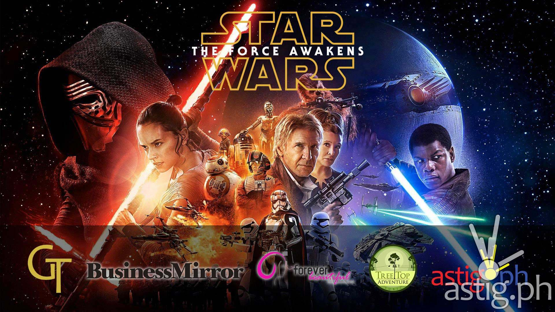 Star Wars The Force Awakens by Golden Ticket Events