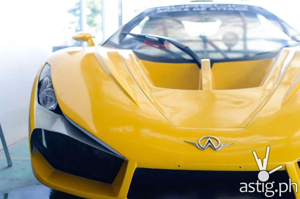 Aurelio super car front shot - Prototype 1